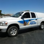 Grafics Unlimited, School Police Truck Graphics