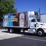 Grafics Unlimited, Smirnoff Box truck wrap