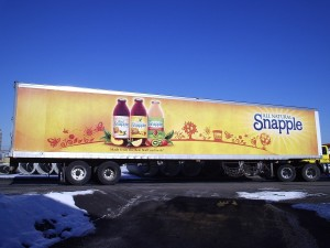 Grafics Unlimited, Snapple trailer wrap