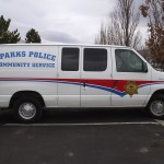 Grafics Unlimited, Sparks Police Community Service Van Graphics