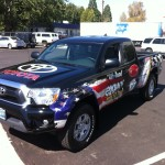 Grafics Unlimited, Toyota truck wrap