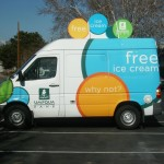 Grafics Unlimited, Umpqua bank Van Wrap