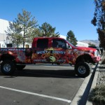 Grafics Unlimited, West Coast martial Arts truck wrap