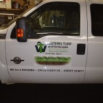 Grafics Unlimited, Western Turf Truck Graphics