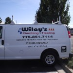 Grafics Unlimited, Wiley's Plumbing & Heating van graphics
