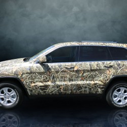 Camo Car Wrap, Grafics Unlimited