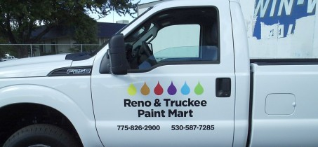 Vehicle Graphics for Reno Advertising