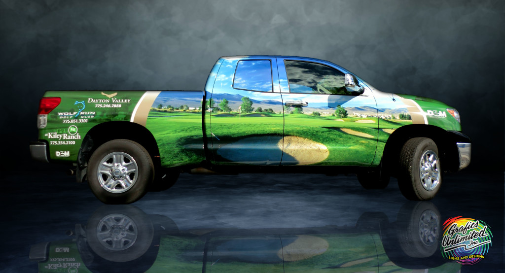 Promote Business With Custom Vehicle Wrap Grafics Unlimited