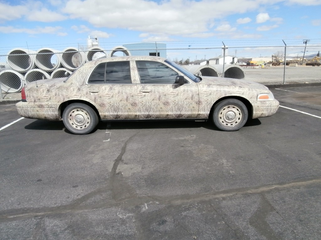 Camo Vehicle Wraps