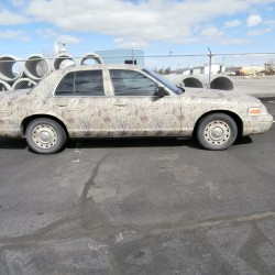 Camo Vehicle Wraps