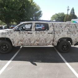 truck camo wrap