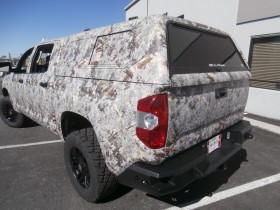 Custom and Camo Vehicle Wraps