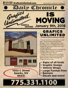 Grafics Unlimited, 1002 C Street, Sparks, NV
