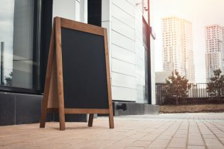 Why You Should Use Outdoor Sandwich Board Signs